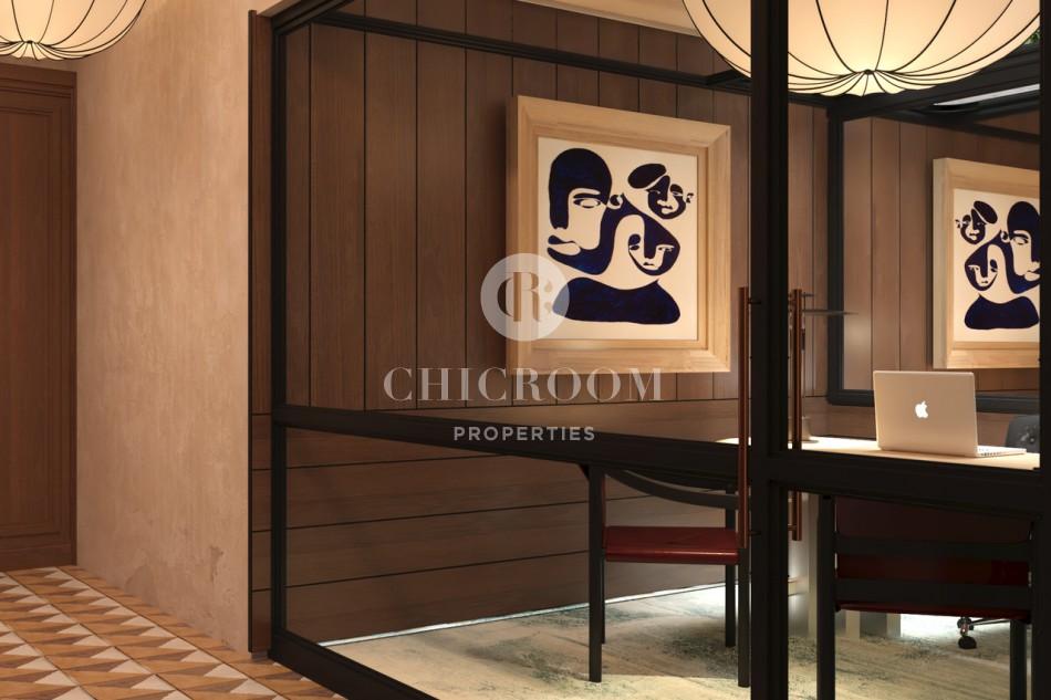 2 bedroom lux apartment in Paseo de Gracia