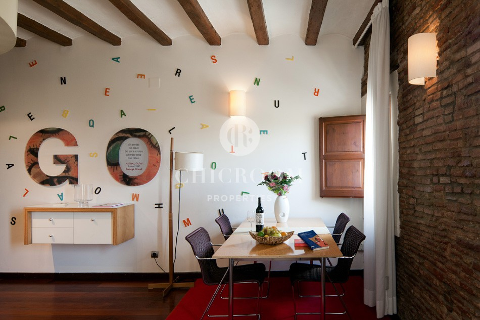 Apartment for rent mid term in Barcelona Old Town