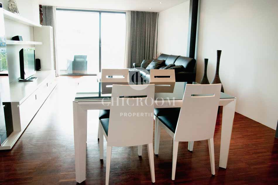 3 Bedroom furnished apartment for rent in Barceloneta with sea views