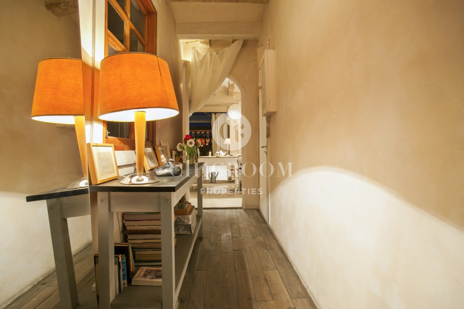 furnished flat for rent mid term  in Barcelona Gothico