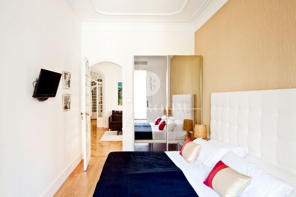 Luxury apartment for rent in Barcelona Eixample
