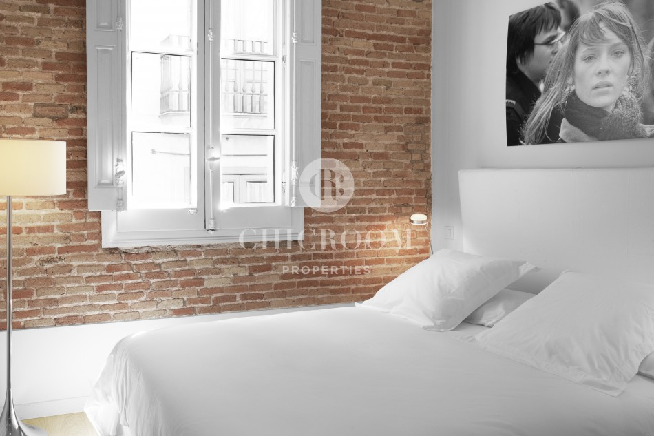 Furnished studio apartment for rent mid term in Barcelona