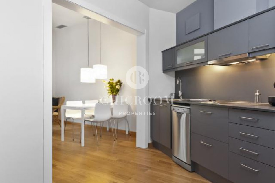 Mid term 2 bedroom flat for rent in Barcelona Gothic