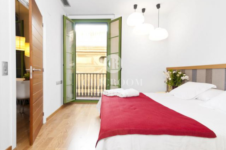 Temporary furnished apartment for rent in Barcelona Gothic