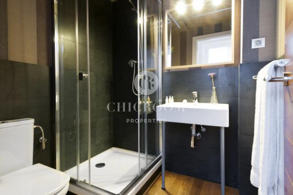 Temporary furnished apartment for rent in Barcelona Old Quarter