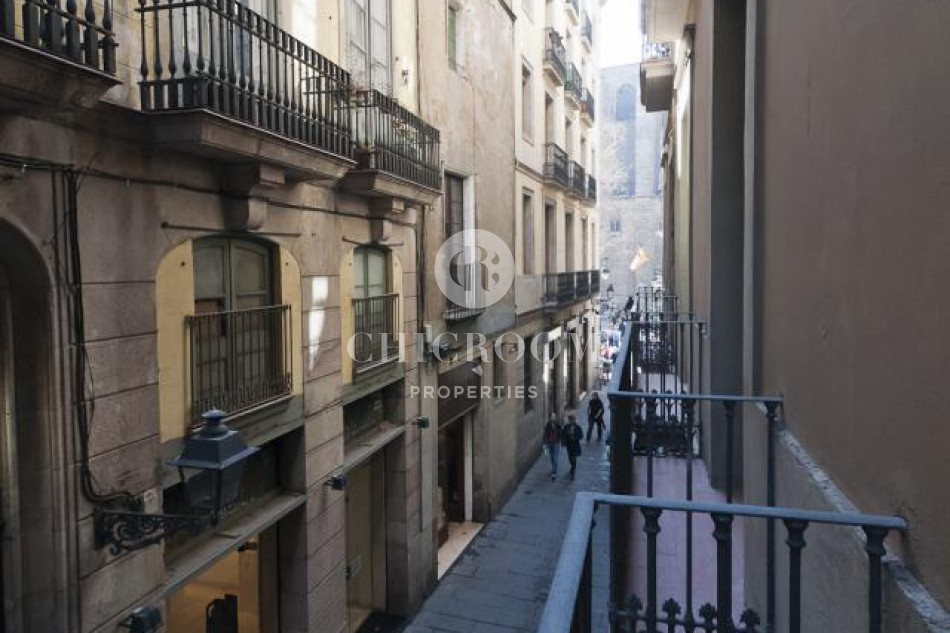 Temporary apartments for rent in Barcelona Gothico