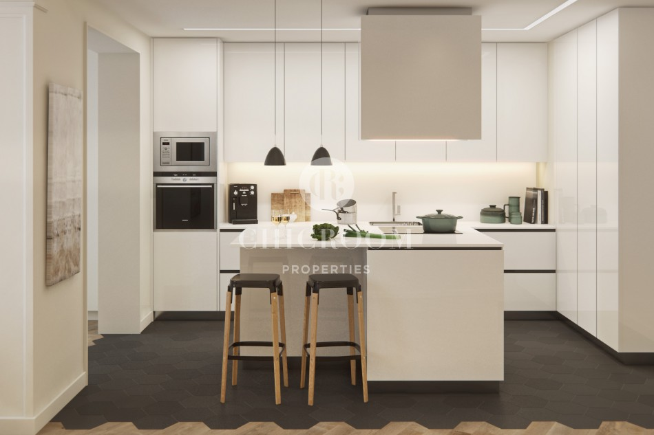 New build apartments for sale in El Eixample Barcelona