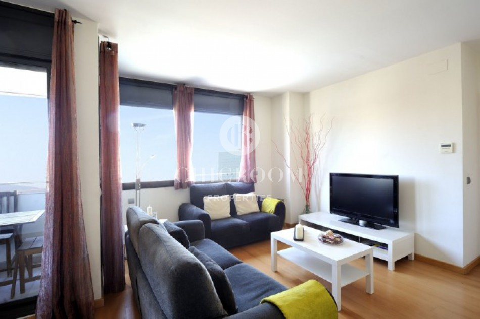 2 Bedroom Furnished Apartment Rental With Swimming Pool Access In Barcelona