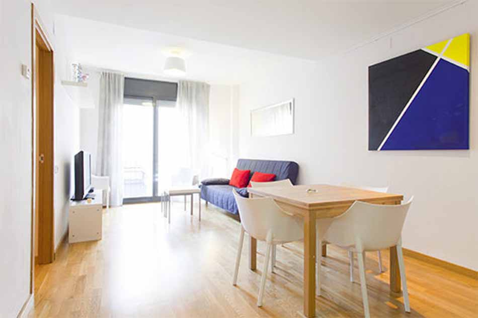 Two Double Bedroom Furnished Apartment For Rent In Gracia Barcelona