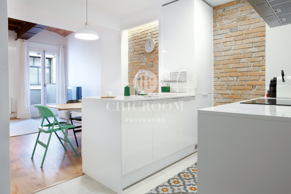 Rooms: 2 Double Bedroom Flat For Rent In Eixample, Barcelona