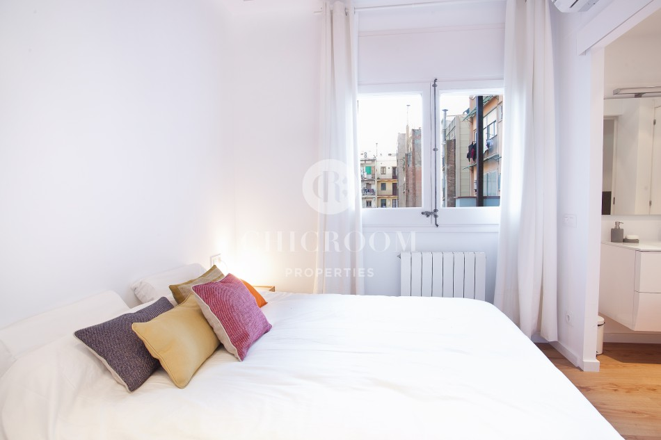 2 double bedroom flat for rent in eixample barcelona