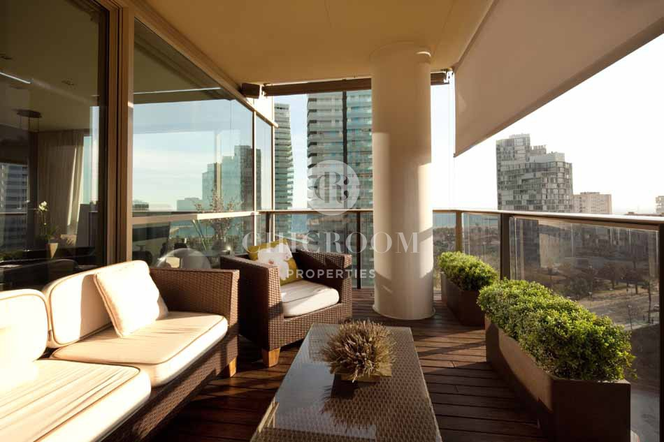 4 bedroom furnished apartment with sea views for rent in