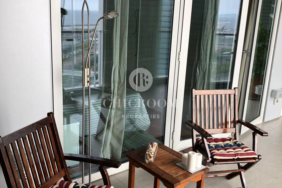 3 Bedroom apartment for rent with sea views in Barcelona Diagonal Mar
