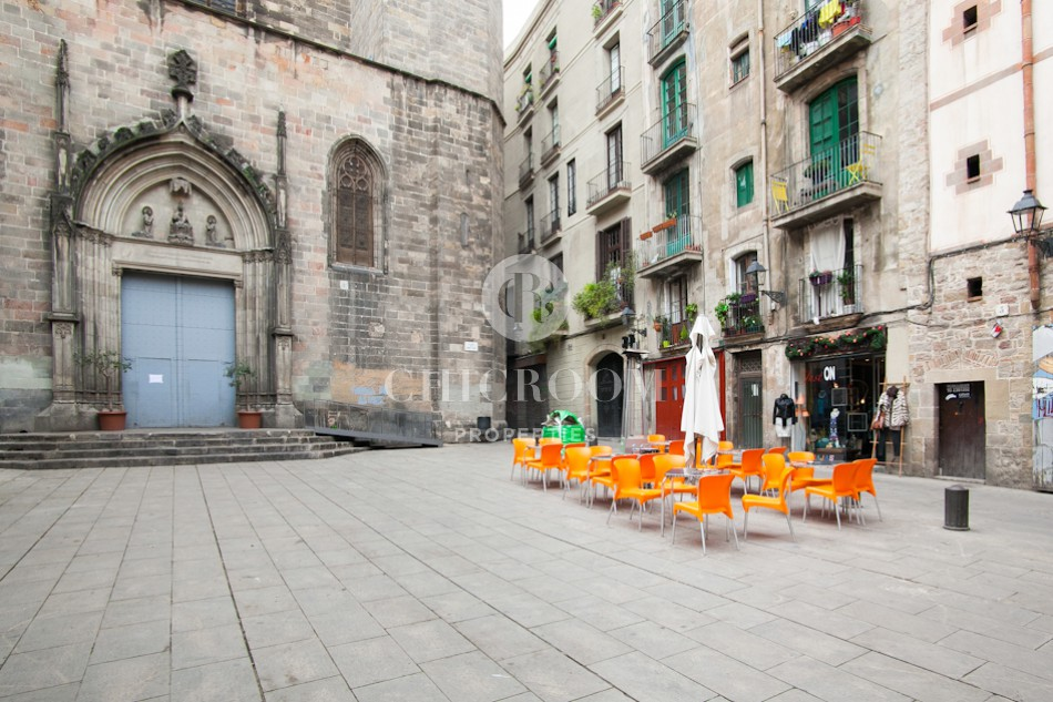 2 Bedroom furnished flat rental in Gothic Barcelona