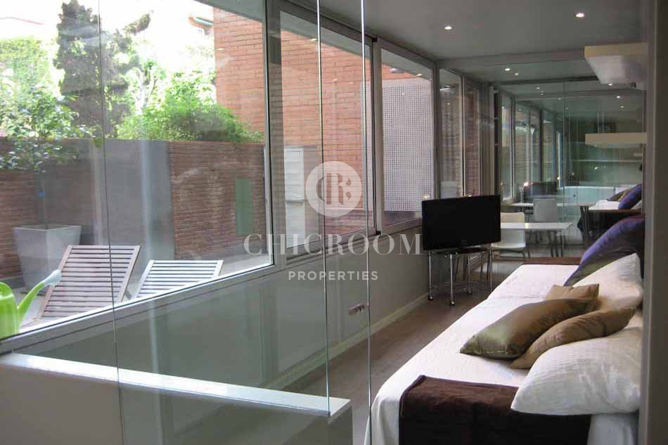 Furnished 2 bedroom apartment for rent in Sarria Barcelona