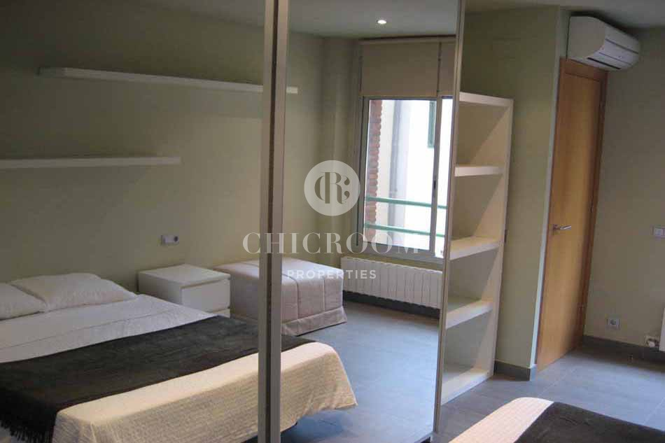 Furnished 2 bedroom flat for rent in Sarria Barcelona