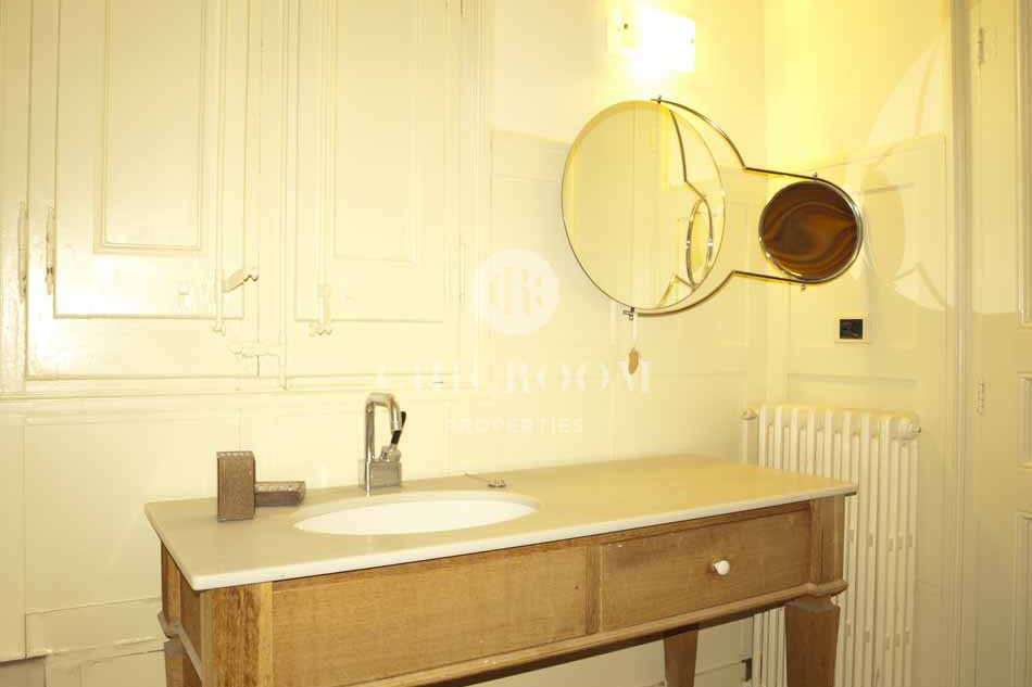 two bedroom furnished flat rental in barcelona eixample