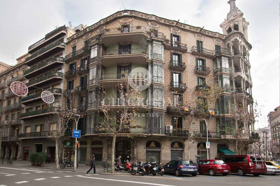 Mid term rental apartment in Barcelona Eixample