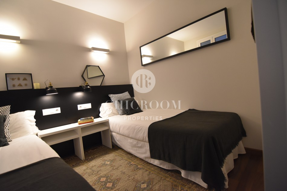 Furnished 2 bedroom apartment for rent in Barcelona harbour