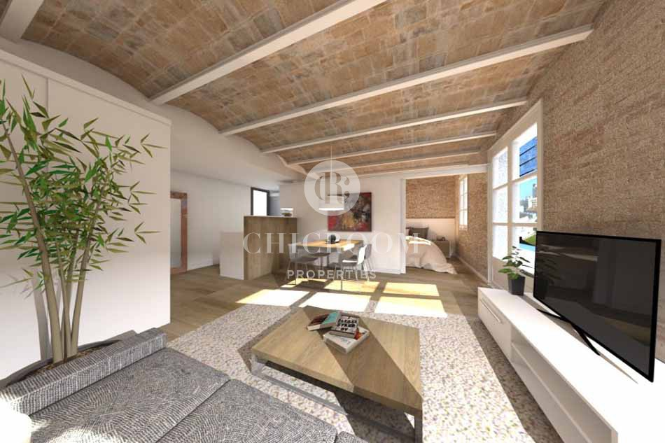 1 Bedroom Apartment For Sale In The Raval Barcelona