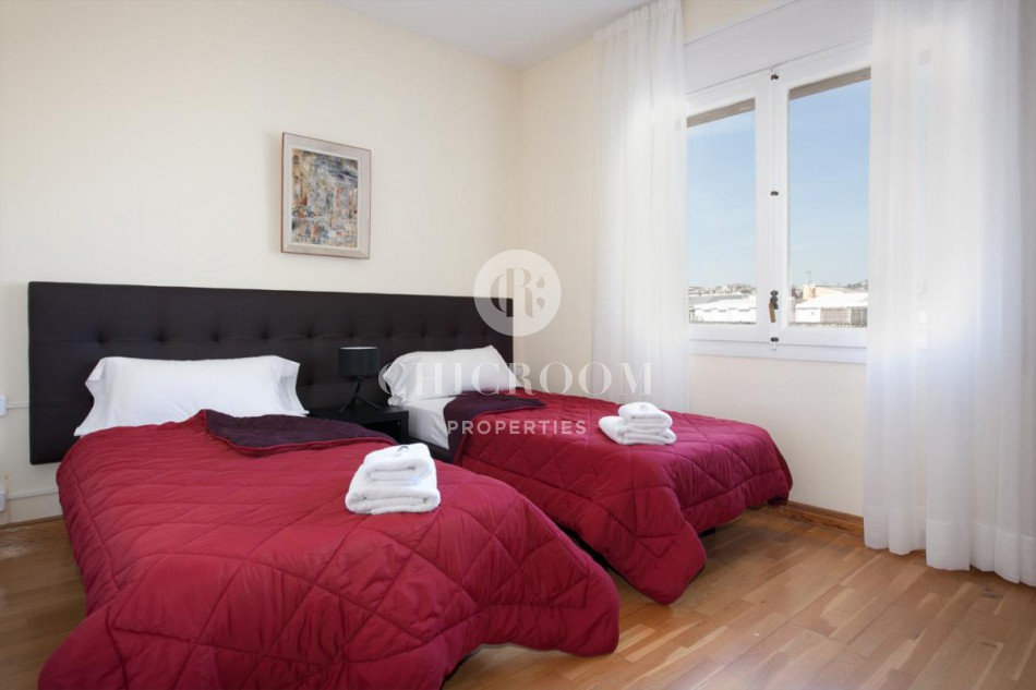furnished 5 bedroom apartment for rent in Turó Parc