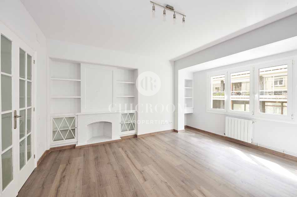 Unfurnished 3 bedroom apartment for rent in Barcelona Sarria