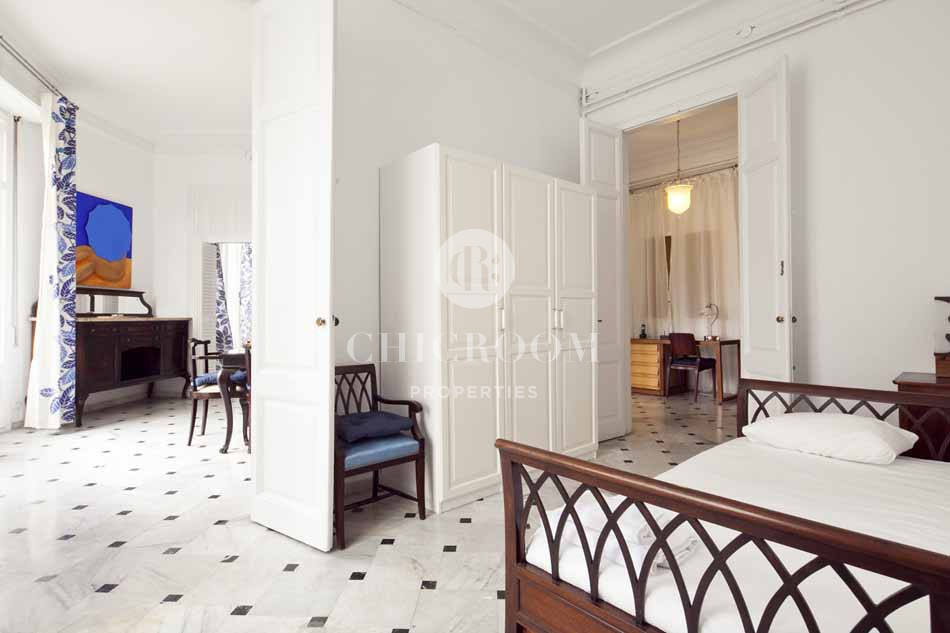 Furnished 4 bedroom apartment for rent in Barcelona Eixample