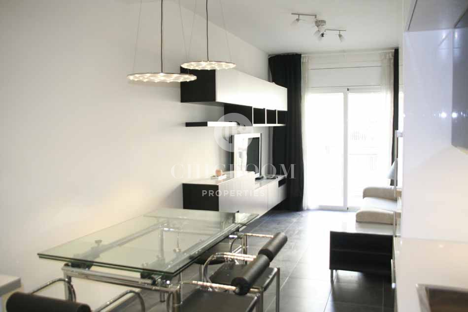 Furnished 2 bedroom apartment for rent near sagrada familia for Apartments for rent two bedroom