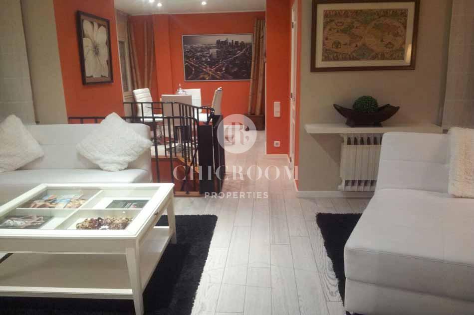 3 bedroom duplex with terrace for rent in Bonanova