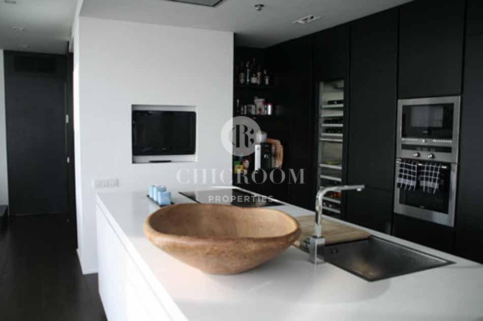 Luxury 3 bedroom duplex penthouse for rent in Diagonal Mar