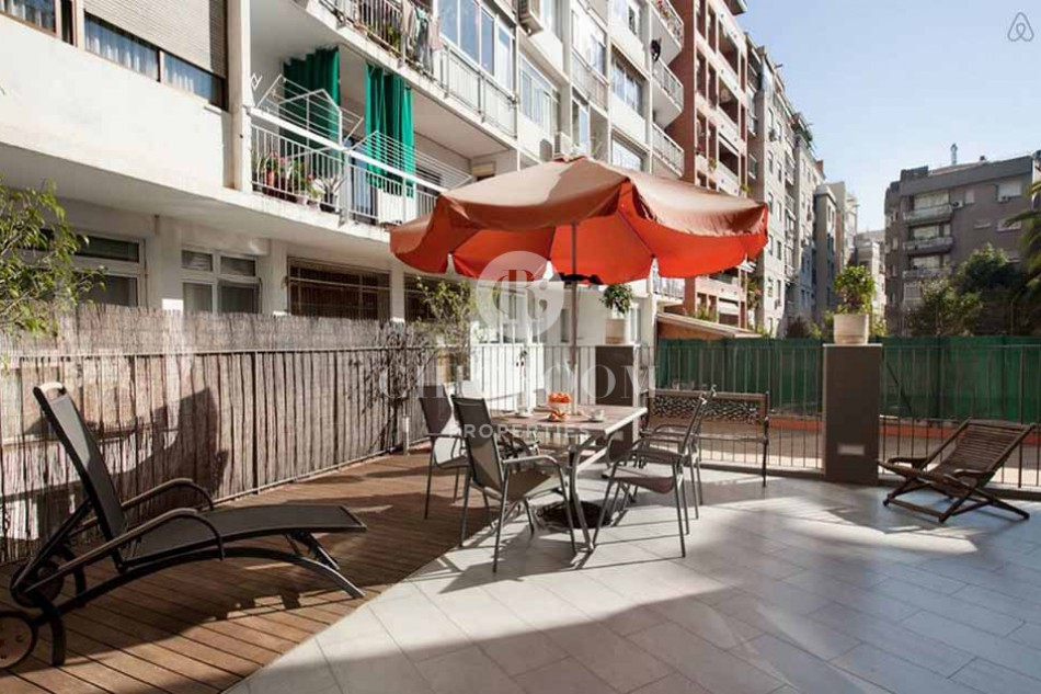 Furnished 2 bedroom apartment with wifi for rent in Sant Gervasi