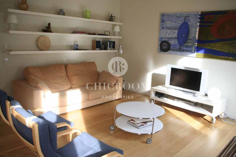 Furnished 2 bedroom apartment for rent with Wifi in Eixample 2