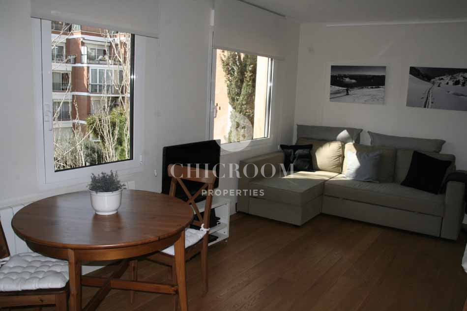 Furnished 2 bedroom apartment for rent in sarria for Apartments for rent two bedroom