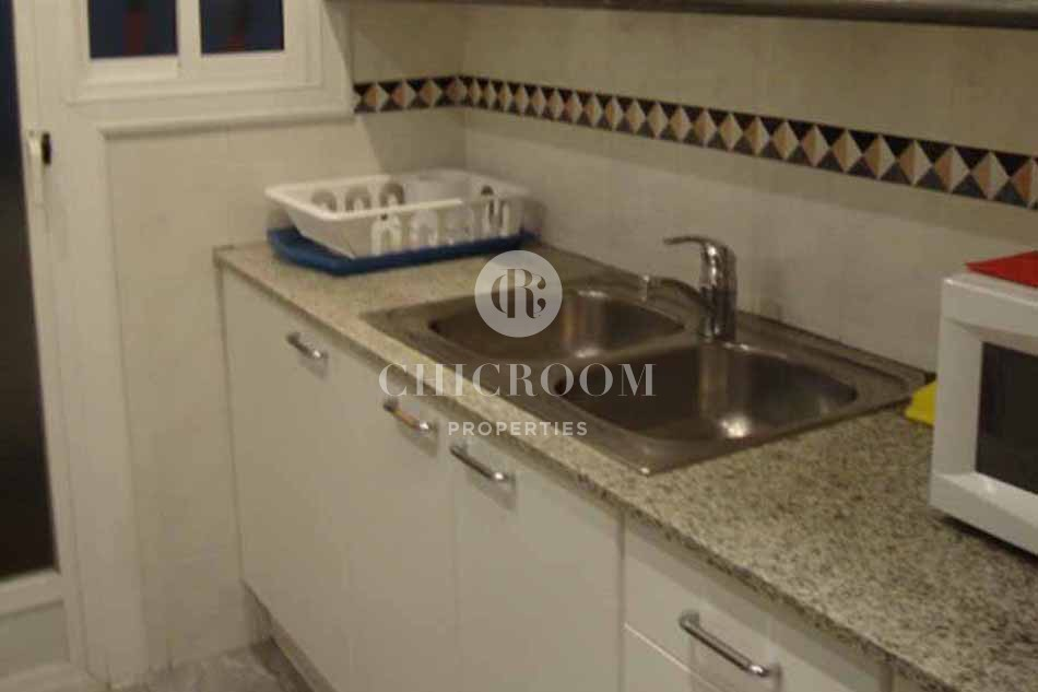 Furnished 3 bedroom apartment with Balcony for rent in Eixample