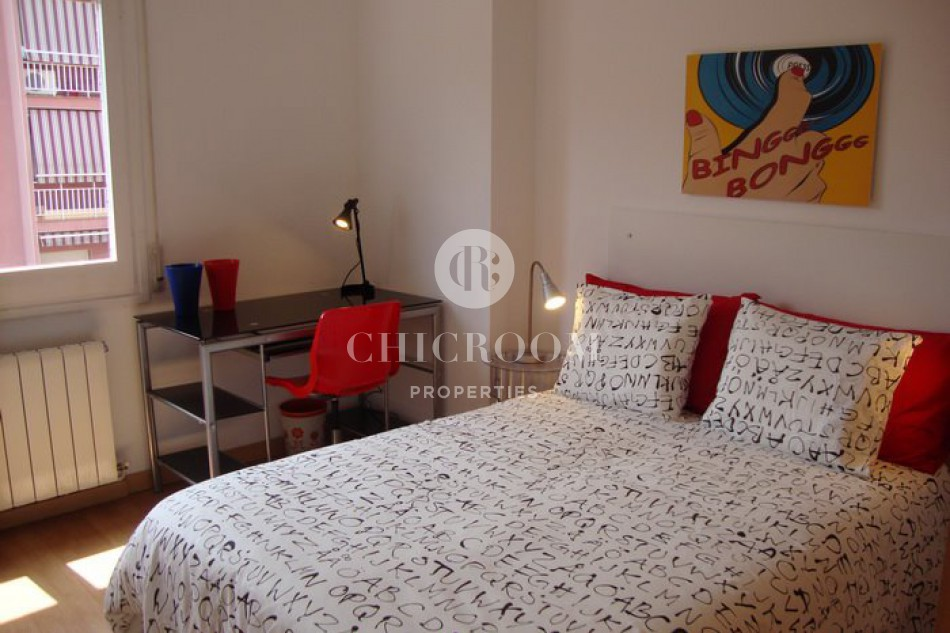 furnished 4 bedroom apartment with wifi for rent Vila Olimpica