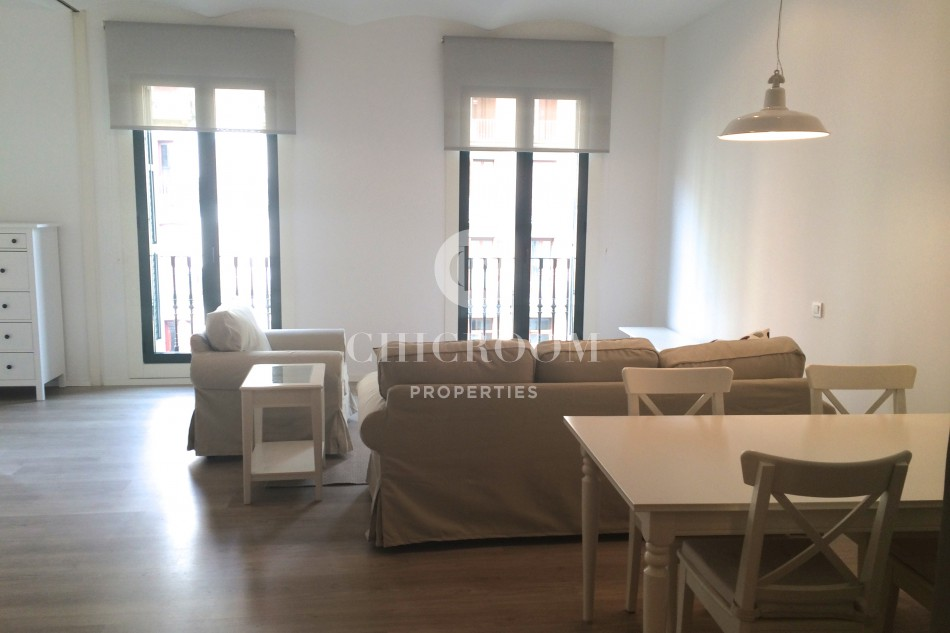 2 Bedroom Furnished Apartment For Rent In Eixample Barcelona