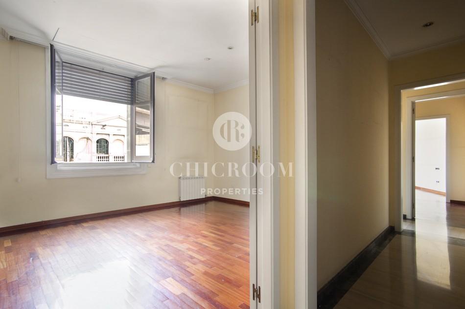 3 bedroom apartment unfurnished in sant gervasi barcelona