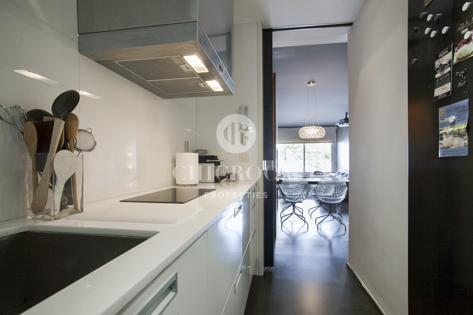 2 bedroom furnished flat for rent in Sant Gervasi