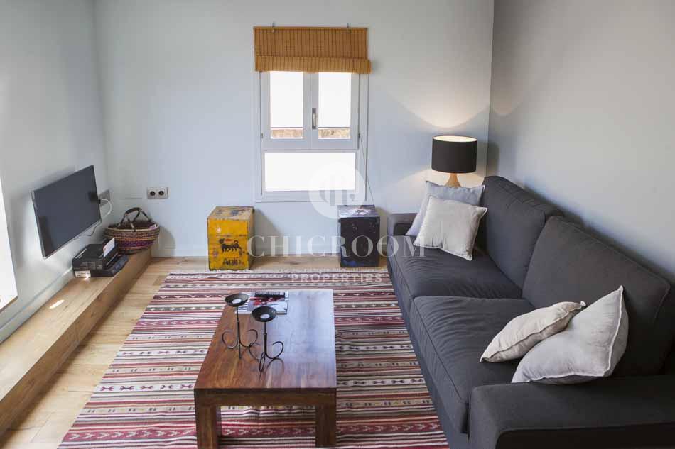 Furnished 1 bedroom apartment with terrace in the Gothic district