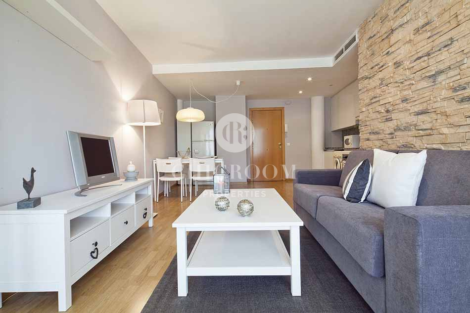 1 Bedroom furnished apartment with terrace for rent Castelldefels