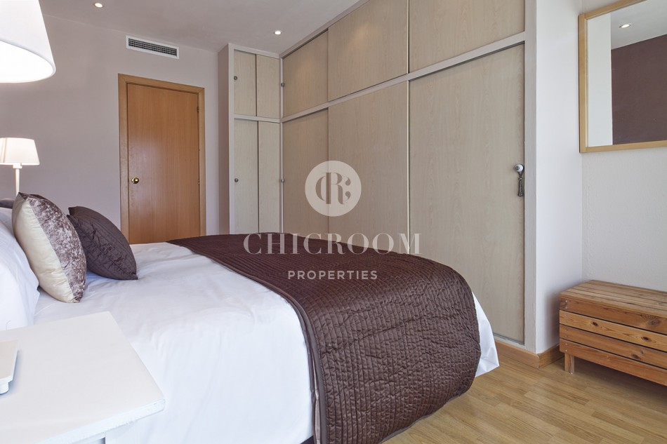 One Bedroom furnished apartment with terrace for rent  Castelldefels