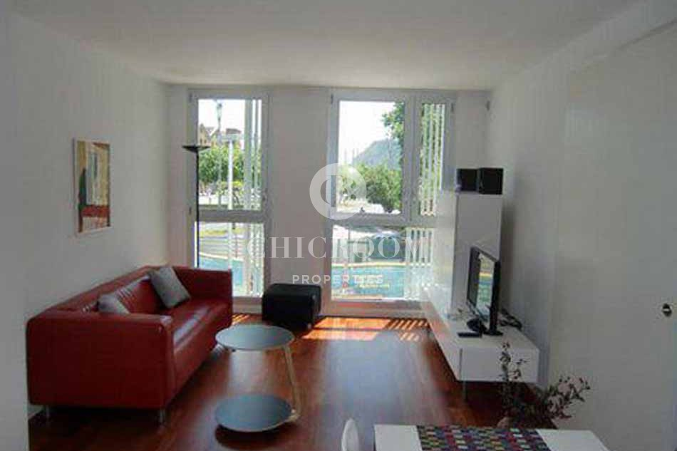 Furnished 1 bedroom for rent in Barceloneta with wifi