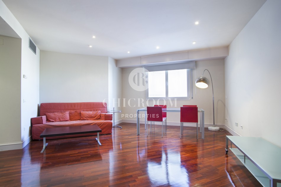 Furnished 1 bedroom flat for rent Paseo de Gracia Barcelona