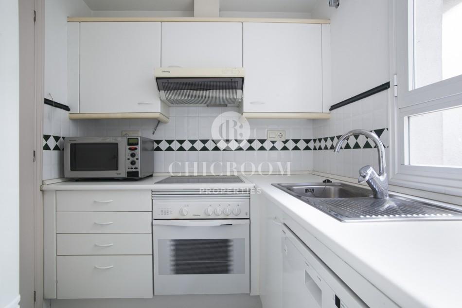 Furnished 1 bedroom flat for rent Paseo de Gracia Barcelona