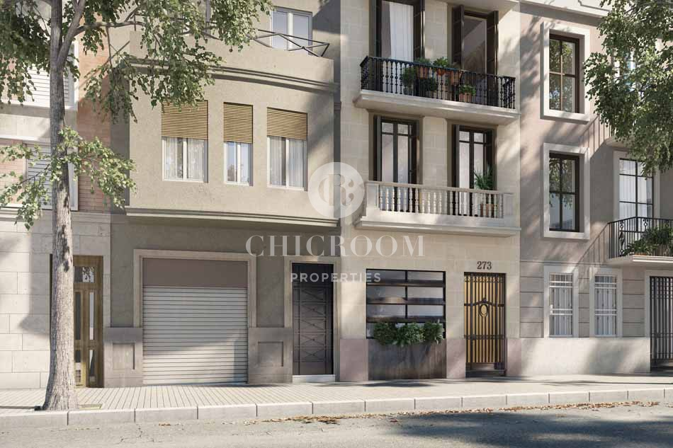 New build properties for sale El Clot Barcelona