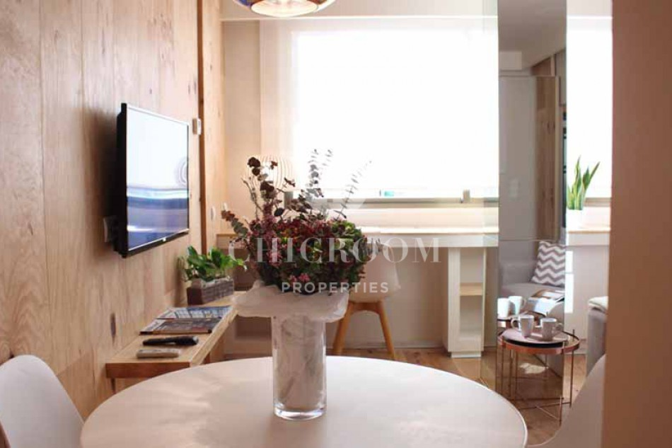 Furnished 1 bedroom apartment for rent les corts barcelona for 1 bedroom apartment barcelona