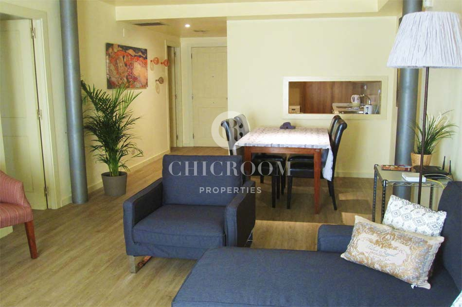 Furnished 2 bedroom apartment for rent with sea views Barcelona