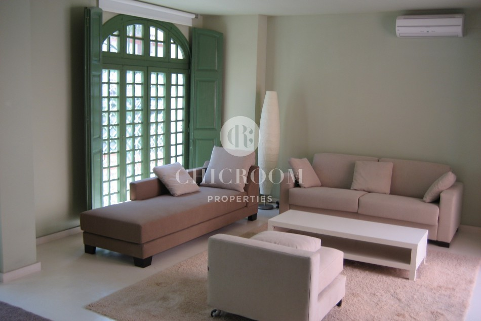 Furnished 1 bedroom apartment with internet for rent in Sarria
