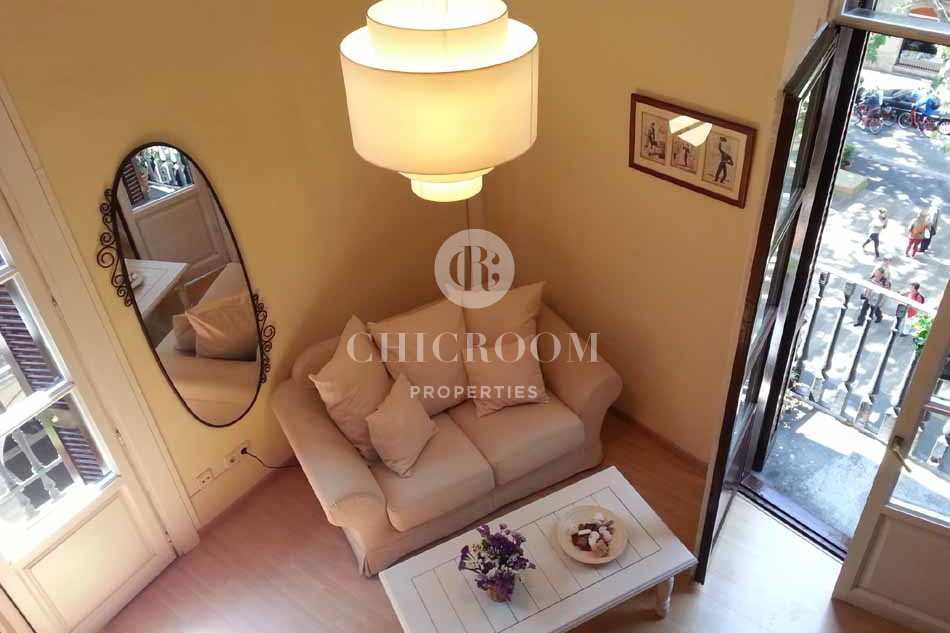 Furnished 2 bedroom apartment for rent in Barcelona city centre