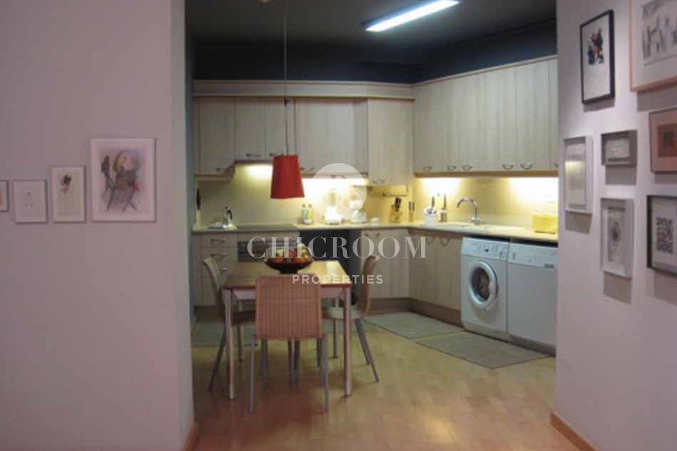 Furnished with wifi 2 bedroom flat to let in el Born